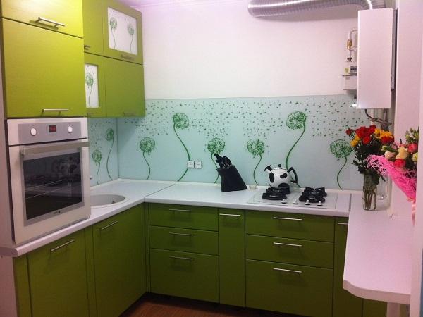 Цветы на кухне ЛНР