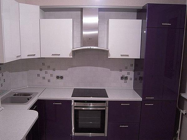 Фиолетовая кухня ЛНР