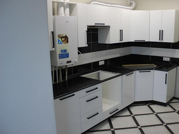 Плитка квадрат кухня