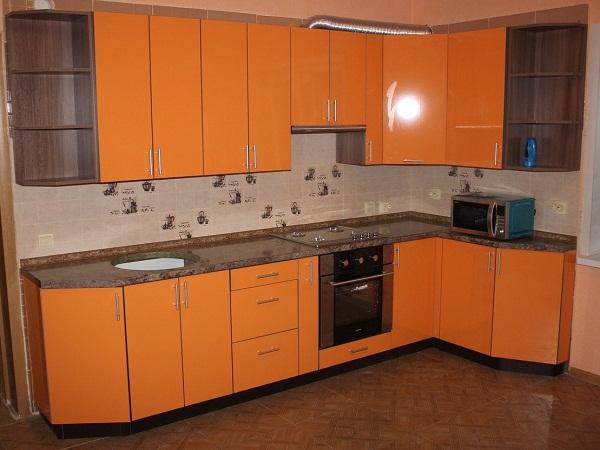 Оранжевая кухня Луганск