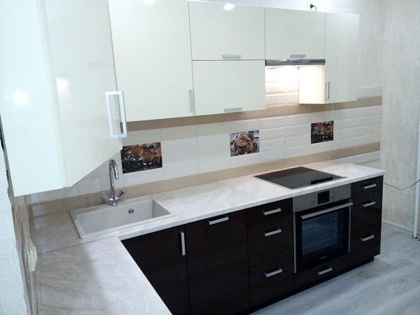 Светлая кухня в ЛНР заказ