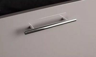 Ручка на кухне под металл